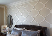Feature mould - custom made decorative panels for the home, office or commercial space.